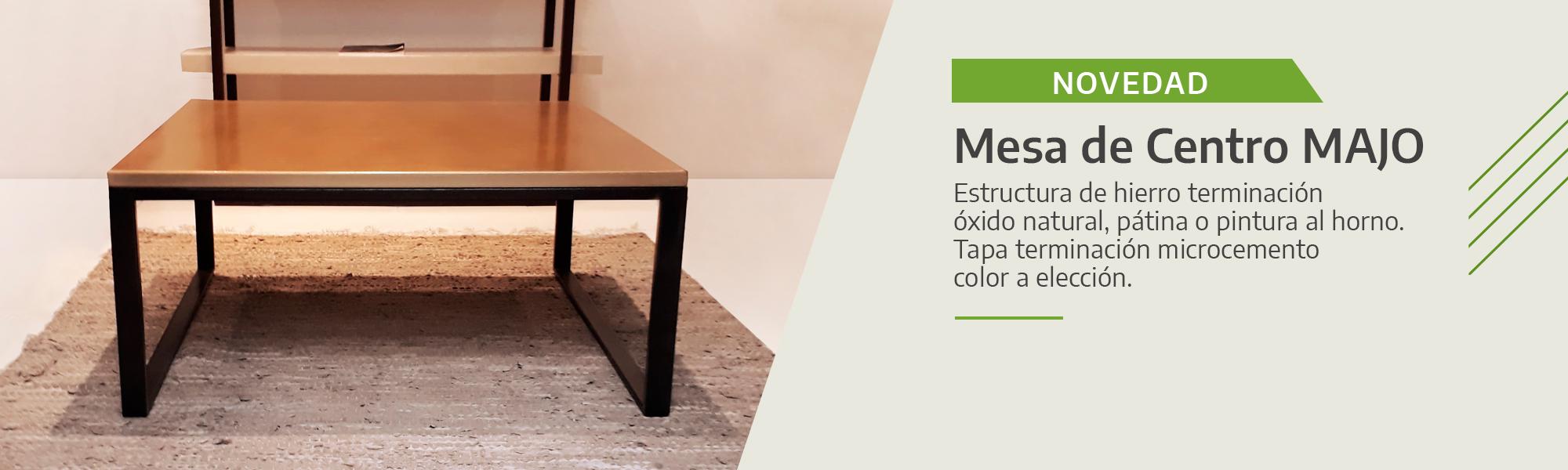 Muebles de Cemento Alisado y Microcemento
